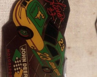 John Deere /Chad Little Nascar #23 pin.