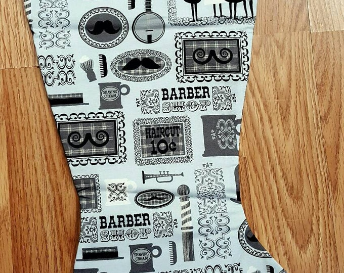 Barber Shop  Christmas Stocking