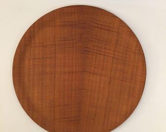 Danish Modern Teak Platter