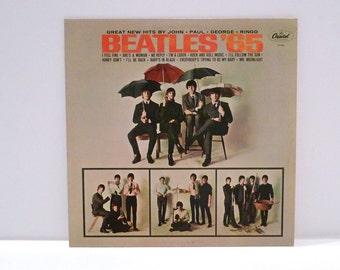The Beatles Vintage Vinyl Record '65 Album John Lennon Paul McCartney George Harrison Ringo Starr I'm A Loser I Feel Fine British Band