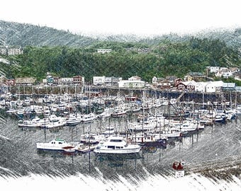 Alaska Fishing Boats
