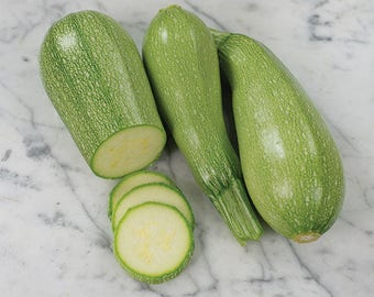 Grey Zucchini, flavorful French heirloom  15+ seeds