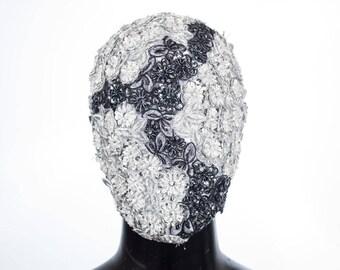 White Rose - Custom Haute Couture Mask