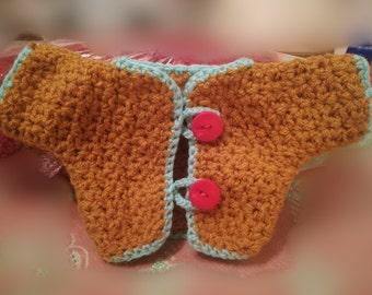 Newborn baby boy sweater