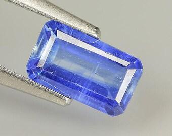1.37 Ct Natural Nepal Blue KYANITE Octagon Gemstone