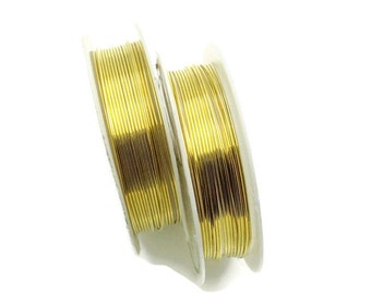Copper wire 24 gauge 0.5mm 9.8 feet. Practice wire for beginners jewelry making and craft projects. DIY supplies, wire wrapping, soft wire