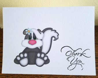 Thank You Card Set of 10, Thank You Cards