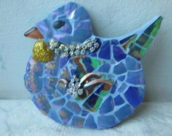 Mosaic Bluebird