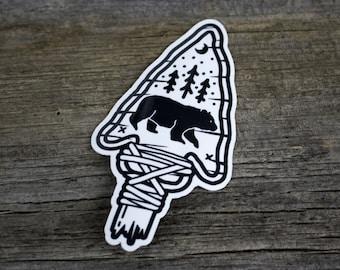 2 Sticker Pack - The Great Black Bear