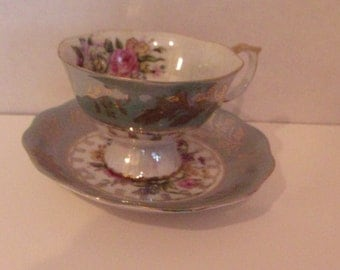 Royal Halsey Cup and Saucer