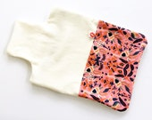 Lucy & Mabs Bamboo Organic Cotton Hot Water Bottle Cover Cozy gift / Rifle Paper and Co