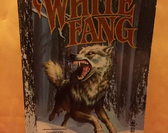 White Fang 1989 softcover