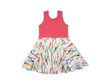 Nixie Tank Mini Twirl Dress