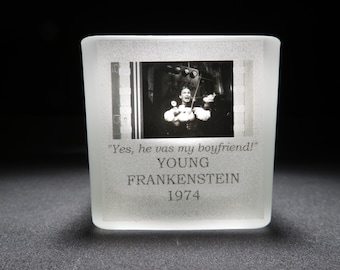 Cloris Leachman - Young Frankenstein - Film Cell - Glass Votive