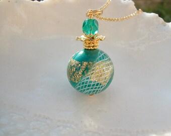 Reticello Venetian Murano Glass Necklace