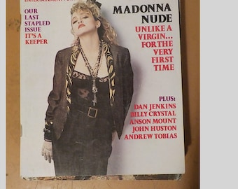 Playboy Entertainment Magazine For Men September 1985 Madonna Issue EXCELLENT