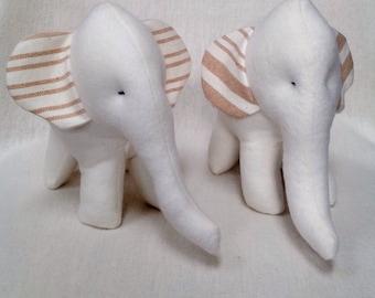 Baby toy organic elephant