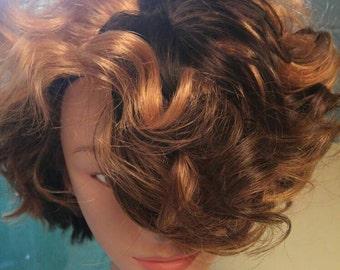 Hola Peruvian 100% Human Hair Color 1B and 33 26 Mixed,, 8 Inches/Free Shippinbbg