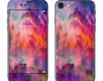 Sunset Storm by Amy Sia - iPhone 7/7 Plus Skin - Sticker Decal