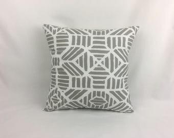 Pillow Cover 20 x 20 - Grey Pillow Cover - Gray Throw Pillow Cover