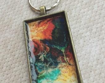 Seasons - prophetic art Keychain