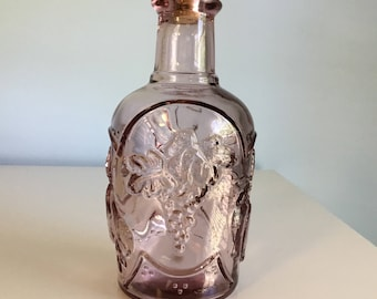 Vintage Glass Bottle Large Collctible Bottle Home Decor Bottle