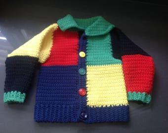 Sweater jacket, Cardigan for toddler