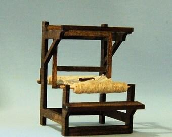 1/2 inch scale miniature-Tudor Loom