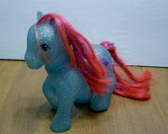 Vintage My Little Pony Sky Rocket Sparkle Ponies First Generation year 7 1988-1989