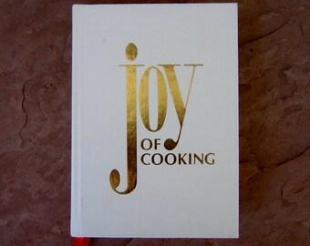 Joy of Cooking Cookbook, Joy of Cooking by Irma von Starkloff Rombauer, 1980 Vintage Cook Book