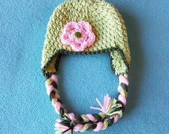Newborn Crochet Hat - Handmade Accessories for Children - AutumnsItems