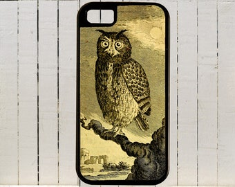 A Vintage B/W Engraving Of An Owl   iPhone Cases and Samsung Galaxys iPhone Case 4,4s,5,5s,6,6plus,7,7plus,8 And All Samsung S Cases