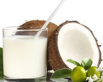 COCONUT MILK & PATCHOULI Reed Diffuser Fragrance Oil Refill Bonus Free Reeds