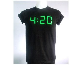 420 High life celebrate Black T-Shirt size S-XL