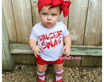 Ginger Swag™ Funny T Shirts, Baby Boy Clothes, Baby Girl Clothes, Newborn Clothing, Infant Clothes, Funny Baby Gifts, Red Heads, Liv & Co.