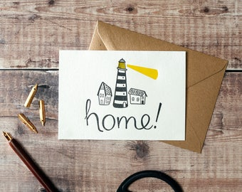 Home Lighthouse New Home Card