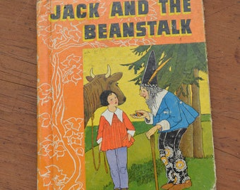 Children's Book, Jack and the Beanstalk and More, 1937