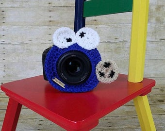 Camera buddy, Cookie Monster, photography prop, childrens prop