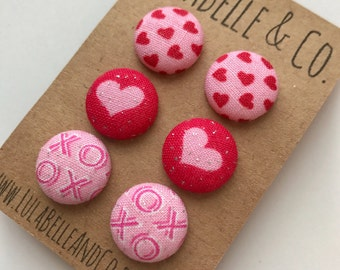 X's and O's Button Earring Bundle