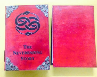 The Neverending Story Auryn Handmade Leather Journal or Sketchbook (2016 edition)