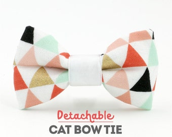 Carrie Detachable Cat Bow Tie - Collars Sold Separately