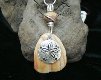 Shell Necklace with Sand Dollar