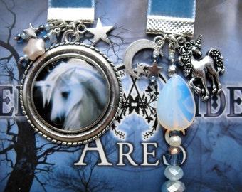 Velvet Bookmark  Unicorn