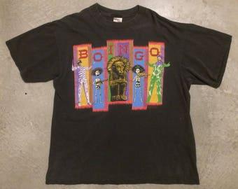 """Vintage 1994 Oingo Boingo """"Dia De Los Muertos"""" Tour T-shirt"""