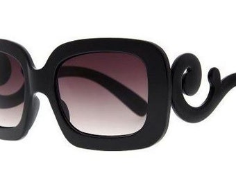 Designer Inspired Baroque Sunglasses
