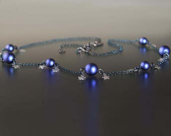 Celestial Deep Blue Necklace