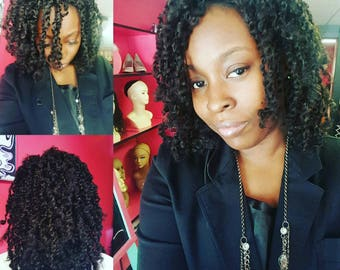 Joy  kinky twist wig