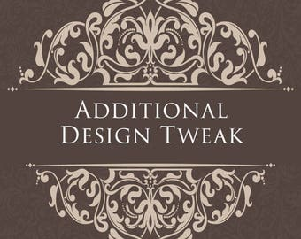 Additional Design Tweak