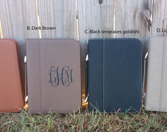 Engraved Bible cover, personalized bible cover, monogrammed bible cover, monogrammed gift, faux leather bible cover, gift for her