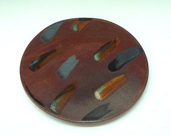 Ceramic platter, large platter, serving platter, handmade platter, stoneware, high fired